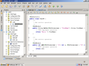 Hướng dẫn tạo webservice
